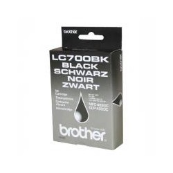 Cartridge Brother LC 700 Bk, černý ink.,  ORIG.