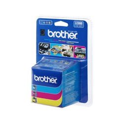 Cartridge Brother LC 900 CMY, multipack, ORIG.