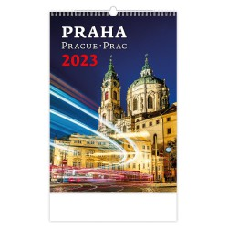 "N103-21 - nástěnný kalendář ""Praha"""