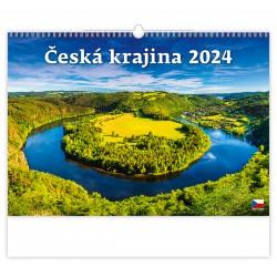 """N109-21 - nástěnný kalendář """"Česká krajina"""""""