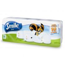Toaletní papír Smile, 170 útr., 2 vr., 10 rolí