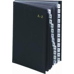 Podpisová kniha s registrem A-Z, 7-150