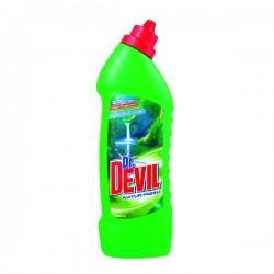 Dr. Devil WC Gel 750 ml, Natur Fresh, čistič WC