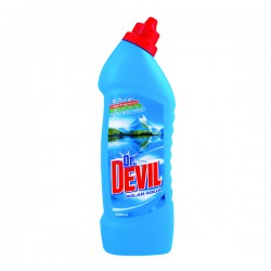 Dr. Devil WC Gel 750 ml, Polar, čistič WC