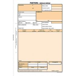 Faktura, daňový doklad A5, NCR, Op-72