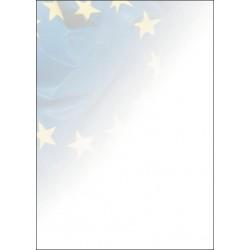 """Barevné archy A4 s motivem """"Unie"""", 50 ks"""