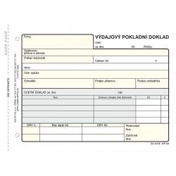 Výdajový pokladní doklad, NCR, Op-83