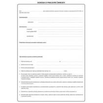 Dohoda o pracovní činnosti A4, Op-137