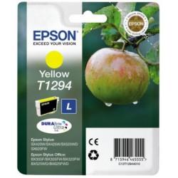Cartridge Epson C13T129440 žlutý ink., ORIGINÁL