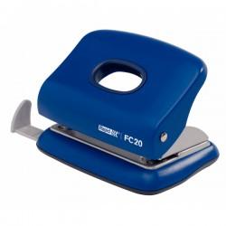 Děrovač Rapid fashion FC 20, 20 listů, modrý