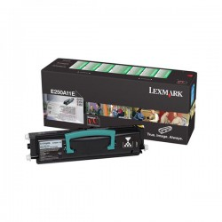 Cartridge Lexmark E250A11, černá, ORIGINÁL