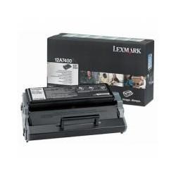 Cartridge Lexmark 12A7400, černá, ORIGINÁL