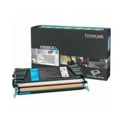 Cartridge Lexmark C5220CS, modrá, ORIGINÁL