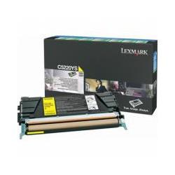 Cartridge Lexmark C5220YS, žlutá, ORIGINÁL