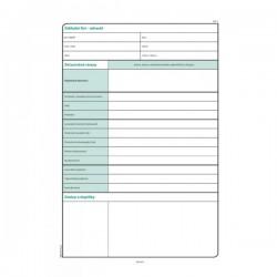 Stavební deník A4, NCR, Op-268