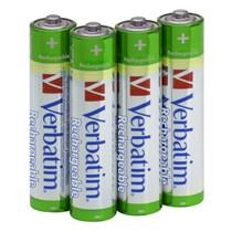 Baterie nabíjecí Verbatim AAA, 1,2V/950 mAh, NiMh