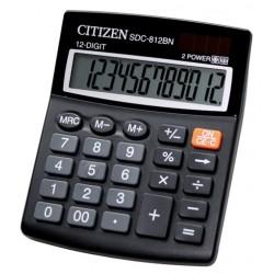 Kalkulačka CITIZEN SDC-812, 12 míst