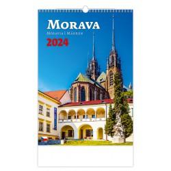 """N102-21 - nástěnný kalendář """"Morava"""""""