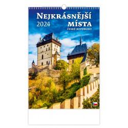 """N111-21 - nástěnný kalendář """"Nejkrásnější místa ČR"""""""