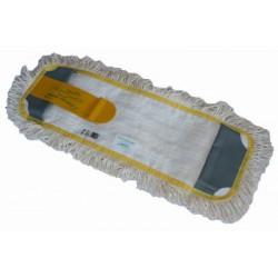 Potah plochého mopu 50 cm, dvě kapsy a jazyk