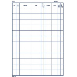 Stavební a montážní deník A4, NCR, typ-401
