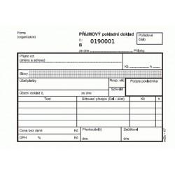 Příjmový pokladní doklad, NCR, msk-47
