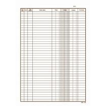Pokladní kniha A4, NCR, mSk-146