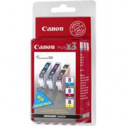 Cartridge Canon CLI-8CMY, multi pack, ORIGINÁL