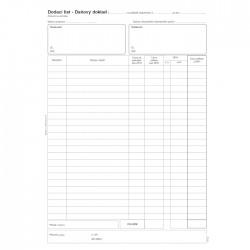 Dodací list-daňový doklad A4, NCR, Bal