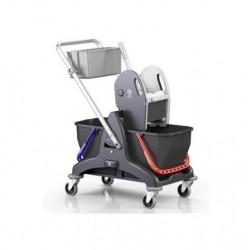 Eko úklidový vozík se 2 vědry
