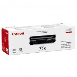 Cartridge Canon CRG 728Bk, černý tisk, ORIGINÁL