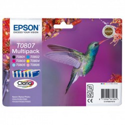 Cartridge Epson C13T08074011, multipack, ORIGINÁL