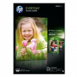 HP Everyday Glossy Photo Paper, lesklý, bílý, A4/200g, 100ks