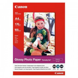 Canon Photo paper Glossy, foto papír, bílý, A4/200g, 100 ks
