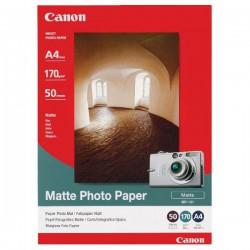 Canon Matte Photo Paper, matný, bílý, A4/170g, 50 ks