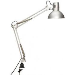 Stolní lampa Maul Study, stříbrná