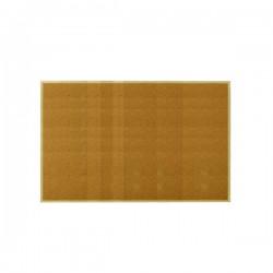 Tabule korková 90 x 120cm, dřevěný rám