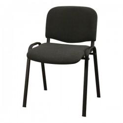 Konferenční židle s kovovou konstrukcí, šedá