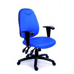 """Židle kancelářská """"Energetic"""", modrá"""
