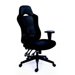"""Židle kancelářská """"Racer"""", černá/šedá"""
