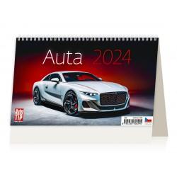 """S10-22 - stolní kalendář """"Auta"""""""
