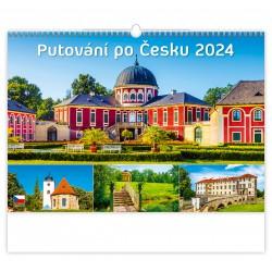 """N108-21 - nástěnný kalendář """"Putování po Česku"""""""