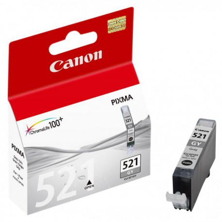 Cartridge Canon PGI-551GY XL, šedý ink., ORIGINÁL