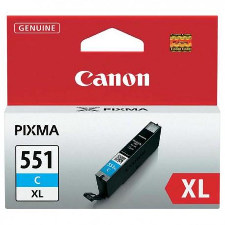 Cartridge Canon PGI-551C XL, modrý ink., ORIGINÁL