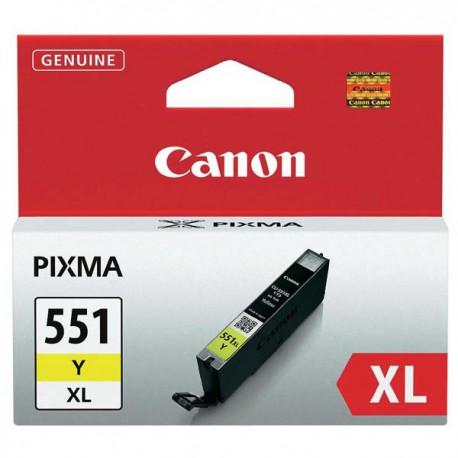 Cartridge Canon PGI-551Y XL, žlutý ink., ORIGINÁL