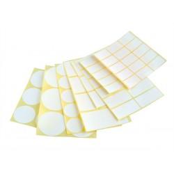Etikety 55x42 mm, bílé, 40 etiket, SK Label