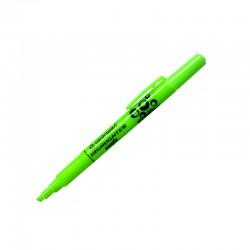 Zvýrazňovač 8732 permanent, šikmý hrot, zelený