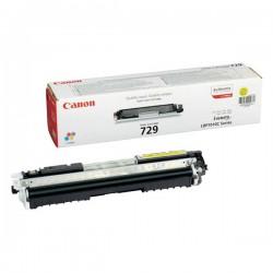 Cartridge Canon CRG 729Y, žlutý tisk, ORIGINÁL