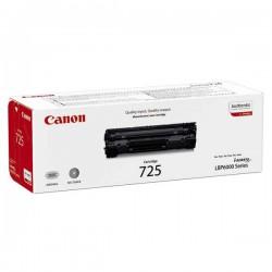 Cartridge Canon CRG 725Bk, černý tisk, ORIGINÁL