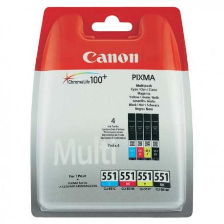 Cartridge Canon CLI-551 Multipack, ORIGINÁL